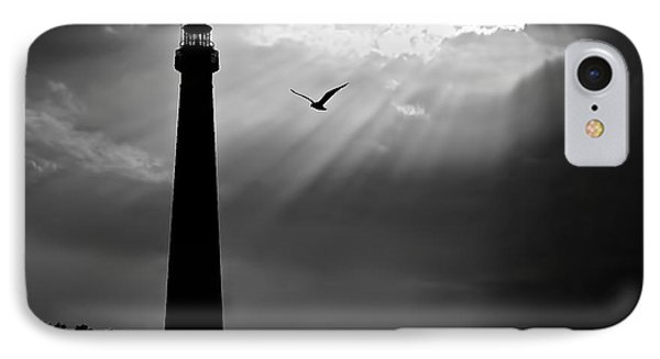 Nature Shines Brighter In Black And White IPhone Case by Mark Miller