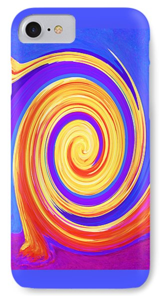 Nature Twirling Phone Case by Margaret Saheed