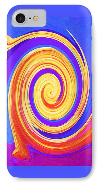 Nature Twirling IPhone Case