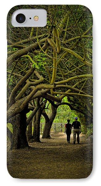 Nature Walk IPhone Case by Joseph Hollingsworth