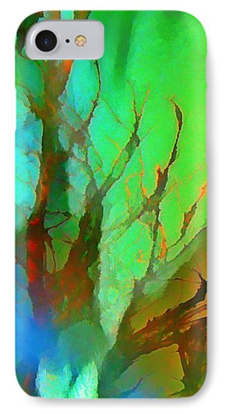 Natures Beauty Abstract Phone Case by John Malone