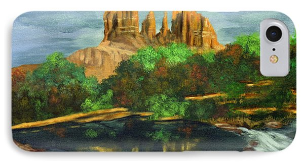 Nature's Cathedral IPhone Case