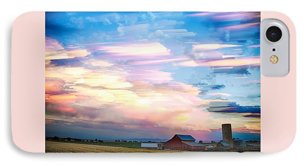 Nature's Country Painting IPhone Case by James BO  Insogna