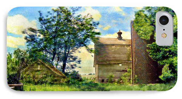 Nature's Farm Reclamation Project IPhone Case by Ric Darrell
