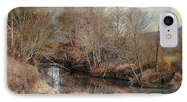 Nature's Glory - Autumn Stream IPhone Case by Jai Johnson