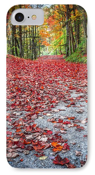 Nature's Red Carpet Phone Case by Edward Fielding