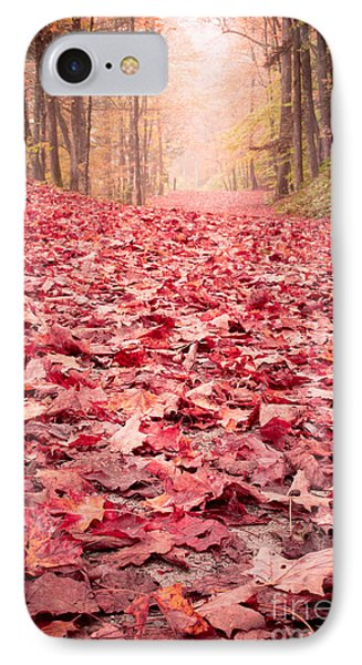 Nature's Red Carpet Revisited Phone Case by Edward Fielding