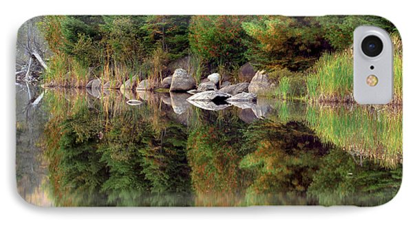 Natures Reflection IPhone Case by Mark Papke