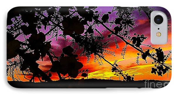 Nature's Silohuette IPhone Case by Chris Tarpening