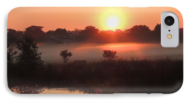 IPhone Case featuring the photograph Nature's Spotlight by Teresa Schomig