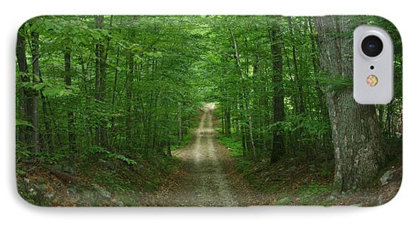 Nature's Way At James L. Goodwin State Forest  IPhone Case by Neal Eslinger