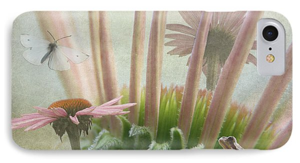 Natures Whimsy IPhone Case by Angie Vogel