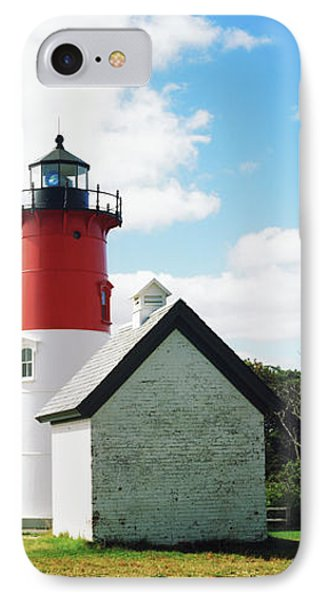 Nauset Lighthouse, Nauset Beach IPhone Case by Panoramic Images