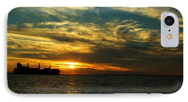 Nautical Sunset IPhone Case