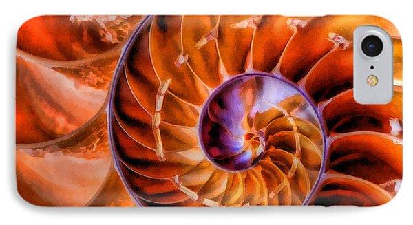 Nautilus IPhone Case by Clare VanderVeen