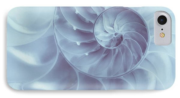 Nautilus - Dreaming Of The Sea IPhone Case by Tom Mc Nemar