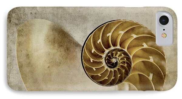 Nautilus Shell IPhone Case by Carol Leigh