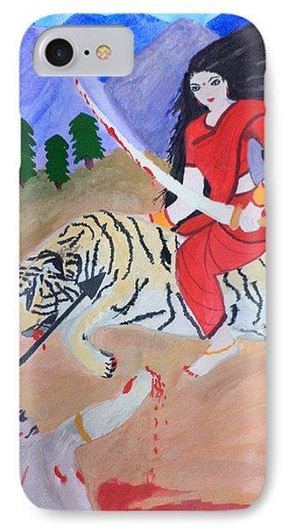 Nava Durga Kaatyayani IPhone Case