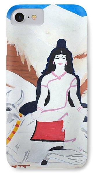 Nava Durga Mahagauri IPhone Case