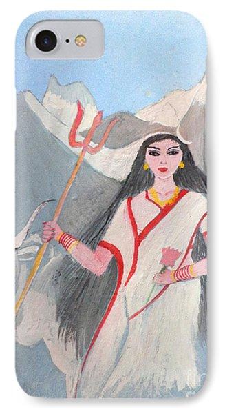 Nava Durga Shailputri IPhone Case