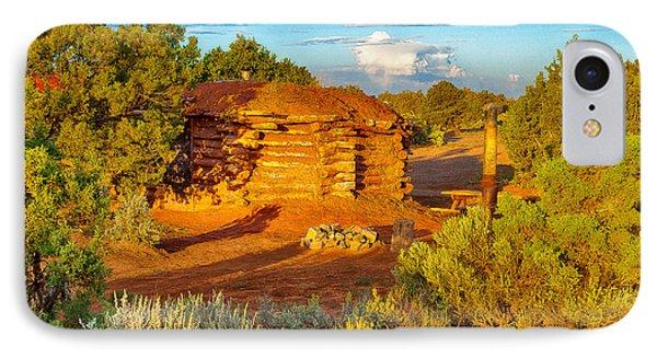 Navajo Hogan Canyon Dechelly Nps Phone Case by Bob and Nadine Johnston