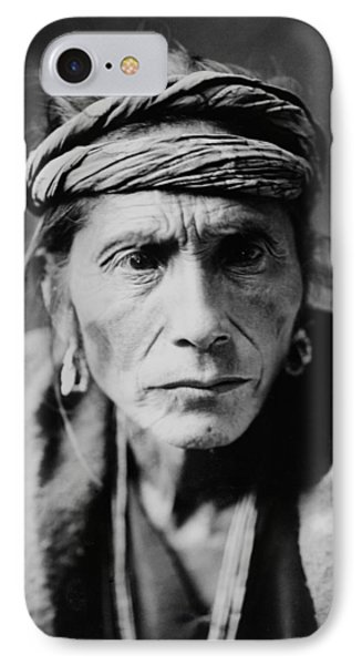 Navajo Man Circa 1905 IPhone Case by Aged Pixel