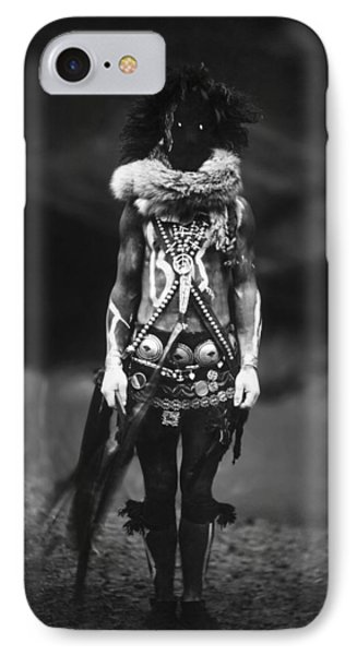 Navajo Warrior Circa 1904 IPhone Case by Aged Pixel
