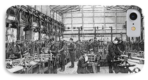 Naval Engineering School, 19th Century IPhone Case by Spl