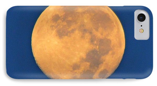 IPhone Case featuring the photograph Navarre Beach Full Moon At Sunrise by Jeff at JSJ Photography