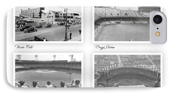 Navin Field Briggs Tiger Stadium Comerica Park IPhone Case by John Farr