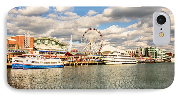 Navy Pier Chicago Photo IPhone Case by Paul Velgos