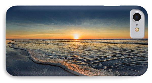 Navy Sunset IPhone Case