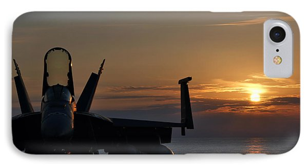IPhone Case featuring the photograph Navy Super Hornet by John Swartz