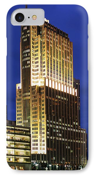 Nbc Tower Building IPhone Case by Wernher Krutein