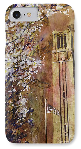 Ncsu Bell Tower IPhone Case