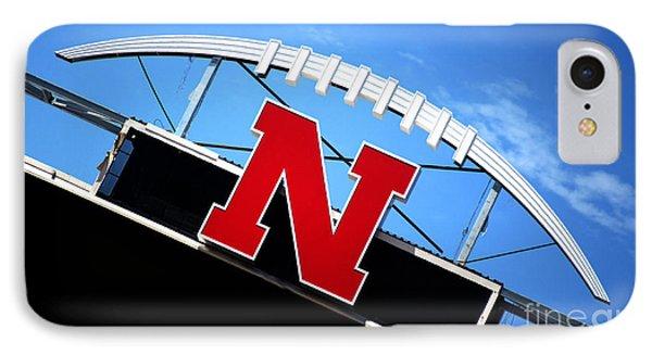 Nebraska Husker Memorial Stadium IPhone Case