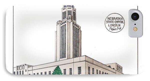 Nebraska State Capitol IPhone Case