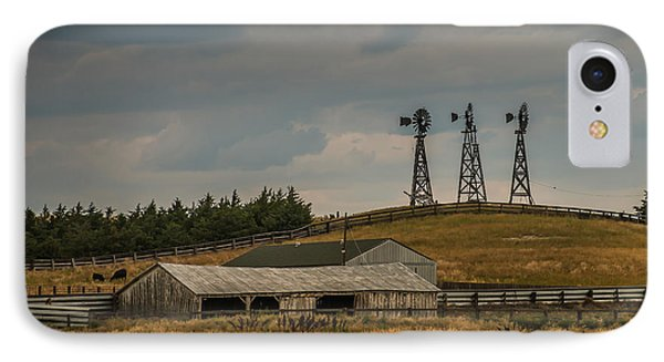 Nebraska Windmills IPhone Case by Paul Freidlund