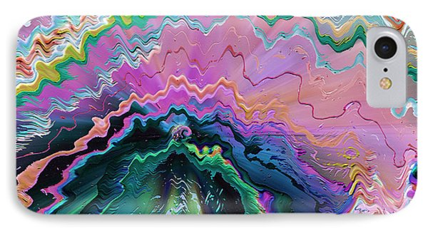 IPhone Case featuring the mixed media Nebula by Carl Hunter