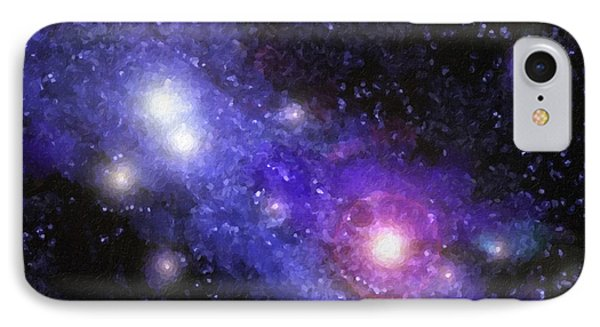 Nebula Digital Painting IPhone Case