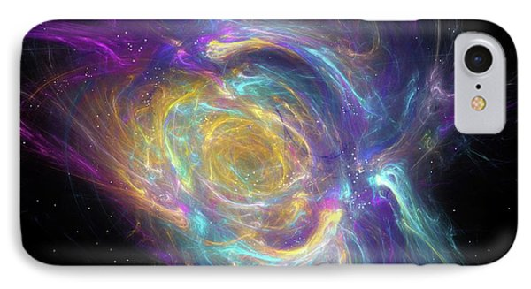 Nebula IPhone Case by Equinox Graphics