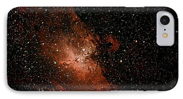 Nebula  M16 IPhone Case by Chuck Caramella