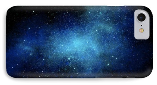 Nebula Mural Phone Case by Frank Wilson