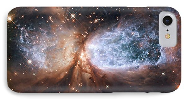 Nebula Sh 2-106, Hst Image IPhone Case by Nasa/esa/hubble Heritage Team (stsci/aura)