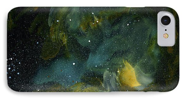 Nebula Two IPhone Case by Emily Magone