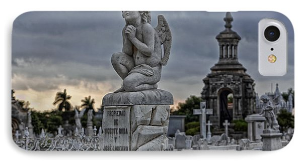 Necropolis De Colon - Havana IPhone Case by Mountain Dreams