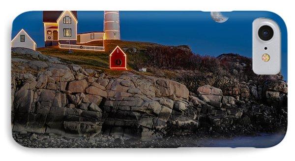 Neddick Lighthouse IPhone Case by Susan Candelario