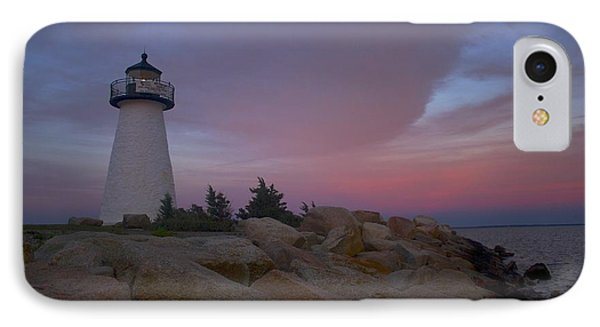 IPhone Case featuring the photograph Ned's Point At Sunset by Amazing Jules