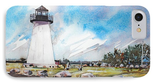 Ned's Point Light IPhone Case by P Anthony Visco