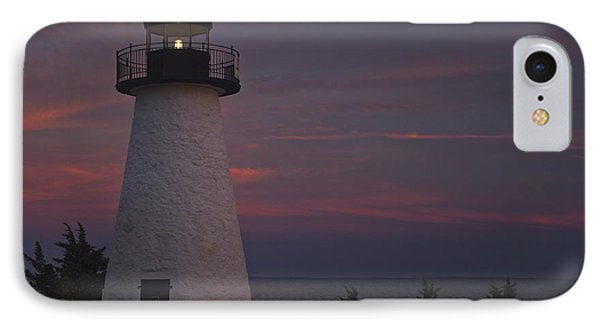 Ned's Point Lighthouse Of Mattapoisett Phone Case by Amazing Jules